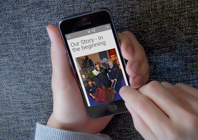Beacon magazines work on every device, including smartphones