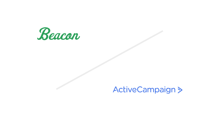 Beacon + Active Campaign Logos