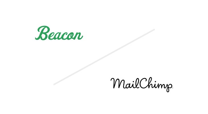 beacon + mailchimp logos
