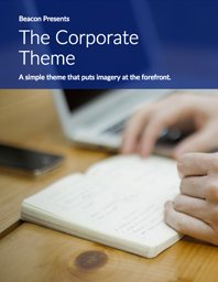 Cover of Corporate Themed eBook