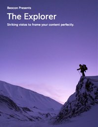 Cover of Explorer Themed eBook