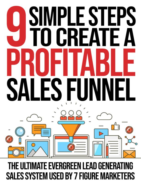 9 Step Sales Funnel