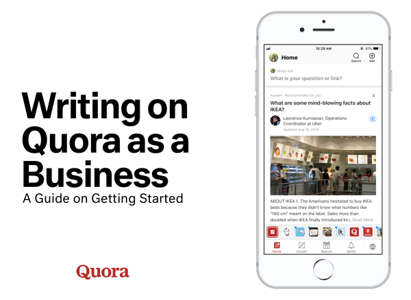 Writing on Quora as a Business